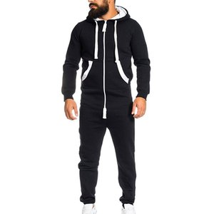 Vertvie 브랜드 남성 실행 세트 두꺼운 스포츠 Jumpsuit 까마귀 슬림 야외 피트니스 Tracksuit 땀 Sportwear 세트 빠른 건조
