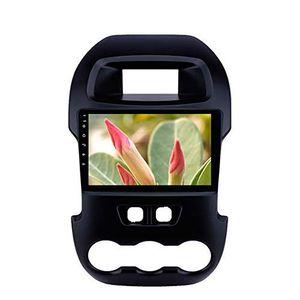 9 pulgadas Android 9.0 estéreo del coche de navegación GPS para Ford Ranger 2011-2014 con USB Bluetooth de alta definición con pantalla táctil Soporte TPMS DVR SWC
