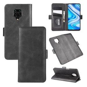 Per Xiaomi redmi Nota 9 Caso Pro Dual-Side Magnetic Buckle orizzontale del cuoio di vibrazione con il supporto di carta Slot Portafoglio