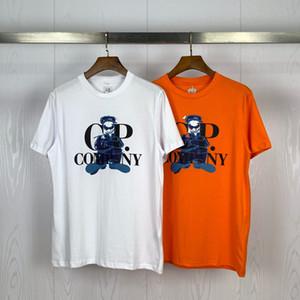 20SS CP camiseta Marca hombre T Shirt Company Diseñador camiseta para Hombres Mujeres CP traje de lujo Tees Cp abrigos de primavera y verano Pullover 20040201L