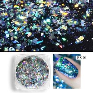 Aurora Laser Chameleon Chrome Shimmer Pigment Powder Magic Mirror Pink Glitter Nail Art Accessories For Fingernails DIY Advice