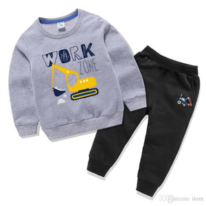 New Arrival Designer Brands Baby Autumn Clothes Set Kids Boy Girl Long Sleeve + Pants 2 Pcs Suits Fashion Tracksuit Outfits Clothing Sets