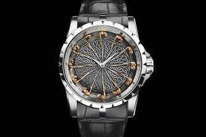 45mm 라운드 테이블 명품 남성 시계 패션 디자이너 고품질 석영의 12 개 기사를 군사 스포츠 망을보고는 RDDBEX0495 시계