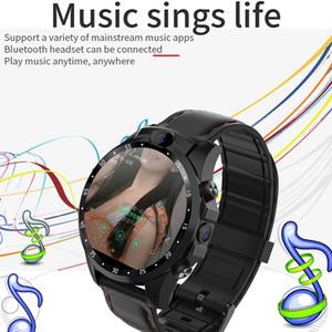 Smart-Uhr GPS-3 + 32GB HD Dual-Kamera-Herzfrequenz-Überwachung Unterstützung schnelle Zahlung Android 7.1 5MP Smartwatch Armbanduhr