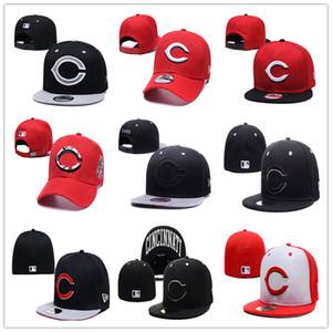 En Kaliteli Cincinnati Gömme kapaklar Kırmızılar şapka Beyzbol şapkası sunhat Işlemeli Snapback Spor Chapéu drop shipping