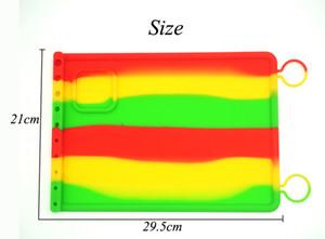 Brand new Resistência ao Calor antiaderente esteira de cozimento de silicone anti derrapante mat dab extractos de óleo de cera personalizado silicone dab mat multiuso