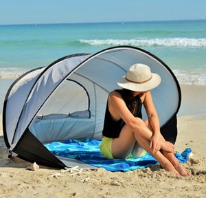 Beach tent sunscreen sunshade automatic outdoor speed open collapsible fishing double tents camping tent