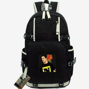 Wade Barrett day pack Bnb wrestle daypack الأخبار السيئة المدرسية لون نقي packsack الكمبيوتر المحمول حقيبة الظهر الرياضة حقيبة مدرسية خارج الباب ظهره