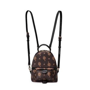 Eski Ayakkabı Palm Springs GERI PAKETI En kaliteli Klasik kaplı tuval Deri kayış Moda kozmetik çantası Kadın Mini bagss