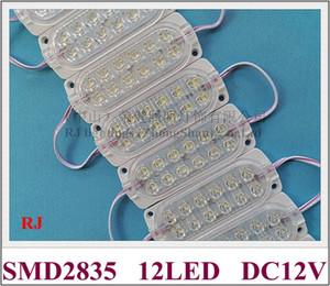 LED Modülü Işık DC12V / DC24V 2.4 W 300LM SMD2835 12LED 104mm * 37mm Su Geçirmez IP65 Kamyon Işık Uzun Araç Uyarı Kontur Işık