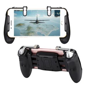 Mobile Game Controller Shooter Trigger Fire Button + Handle Holder Cell Phone Adapter Accessories For PUBG