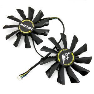 Neues Original für MSI N760 R9 270x Hawk Graphics Card Cooling Fan PLD10010B12HH DC2V0.40A