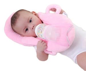 빨 유용한 안티 롤 방지 플랫 헤드 지원 목 메모리 폼 신생아 유아 아기 간호 단색 베개 기능