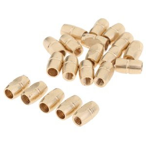 Pack / 20pcs cuivre Embouchure de Clip Vis à souder d'or pour Saxophone Sax Accessoire