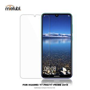Vetro della protezione dello schermo per Huawei Y7 PRIME 2018 / Y7 PRO 2018 / Y7 PRO 2019 2.5D bordo vetro temperato Protector