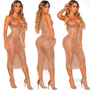 Wholesale-NEW Women Bathing Suit Sheer Crochet Bikini Cover Up Swimwear Summer Beach Dress