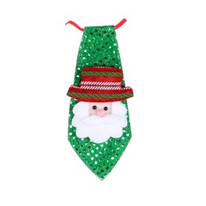 Çocuklar Kostüm LED flaş Tie Parti Aksesuar Boys Işıklar Tie Noel Boyun Kravat