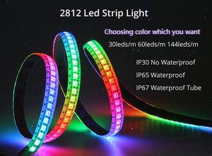 WS2812B LED 스트립 (144 개)의 LED / m