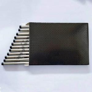 12pcs / box Schraube Typ Mittelpunkt Schwarz / Blau Tinte Roller Refill für MB Pens Gut Schreiben