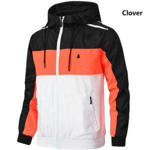 Autunno Giacche Mens con 3 strisce uomini Windbreaker cappotto con 3 Erbe Winter Fashion causale esterni Abbigliamento Per Jacket all'ingrosso