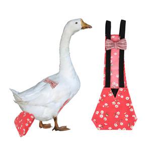 2 × الدجاج تسخير الدجاجة، مع الأشرطة قابل للتعديل، مرونة، للتنفس، والصغيرة، ومناسبة للبطة الدجاج والدواجن الأخرى - أحمر S L
