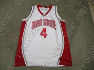 Дешевые пользовательские старинные штата Огайо штата Огайо баскетбол Джерси сшитые ОГУ создать любое количество имен мужчин, женщин, молодежи XS до 5XL