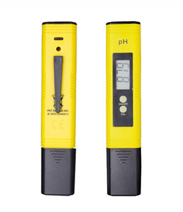 2019 Nova Protable Digital PH medidor Tester ,00-14,0 PH para a calibração automática Aquário Wine Monitor do pool de Qualidade da Água Ferramentas de medição