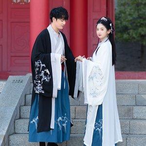 3pcs Dinastia Tang Hanfu Vestido chinês Bordado Costume Tang Dynasty Dança Suit antigos Stage vestidos tradicionais chineses