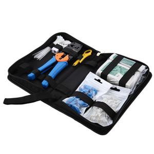 Professionnel 10 En 1 Kit Informatique Outil Réseau Réparation Kit 868E Pince Réseau RJ45 RJ11 468 Testeur Set Couteau À Dénuder BA