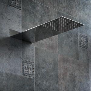 정연한 스테인리스 샤워 꼭지 강우 샤워 꼭지 소나기 크롬 고압 추베이로 목욕 꼭지