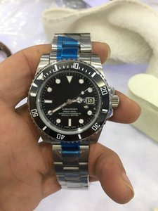 Original box certificate luxury Mens Watch Version Asia 41mm GMT II 116710 116710LN 116710BLNR Ceramic Automatic mechanical stainless