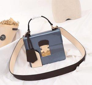 diseñador del cuero genuino mujeres de lujo bolsos de noche mujer bolsa de hombro de la marca con la parte superior de la cadena monedero de la cartera de la calidad