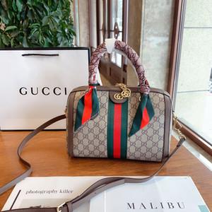 Borsa a tracolla in pelle genuino bel 02 popolare borse di disegno di donne originali Sacchetto squisito di alta qualità