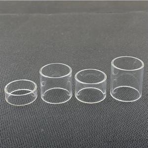 Tube normal de verre de remplacement droit pour Geekvape Karma RDTA Flint 2ml Alpha kit de réservoir de l'atomiseur