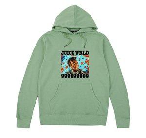 Rap Hip Hop-Männer mit Kapuze mit Rundhalsausschnitt Retro Männer Designer Kleidung beiläufiger loser Mens Hoodies