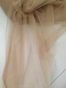 skin nude,160cm width 2meter lot super soft mesh tulle sheer for DIY wedding dress,veil, curtain, petticoat, tutu, decoration