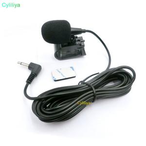 Car Audio Micrófono 3.5mm Jack Plug Mic Stereo Mini Micrófono externo con cable para Auto DVD Radio 3m LongProfessionals Car Aud (hl)