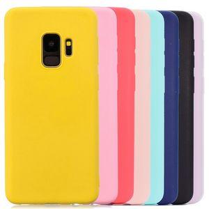 Multicolor Téléphone Housse en silicone pour Samsung Galaxy S6 S7 S8 S9 bord J5 J7 J4 J3 J6 A3 A5 A7 A6 A8 plus 2016 2017 2018 cas