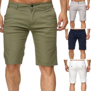 2019 Summer New Mens Pantaloncini cargo Stallion Chino Casual da combattimento Pantaloncini casual Cotone New Work Pantaloni mezzo Streetwear