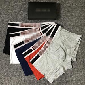 Biancheria intima 2020 nuovo arrivo Mans I pugili sexy shorts mutande maschio morbido comodo modo superiore Boxer 6 colori SENZA SCATOLA B104582V
