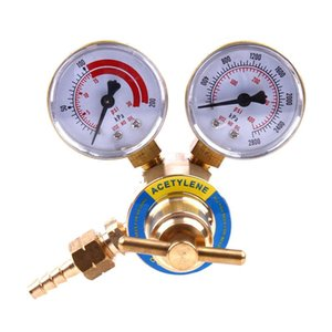 2-5 8 Inch Professional Acetylene Pressor Golden Red White Unloader