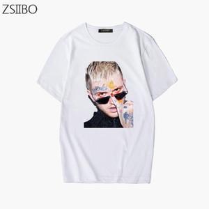 Mode 3D character Imprimer Rapper Lil Peep T-shirt des hommes Rap Hiphop LilPeep refroidissent tendance Streetwear T-shirt imprimé graphique Hauts T Hip Hop