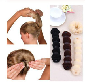 New Fashion Hair Tools Magic Quick Bun Make Hair Styling Long Headbands Women DIY Hairbands Girl Korean head accessories Hair Accessories