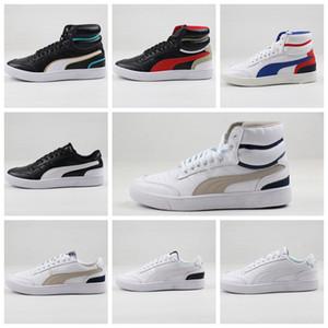 2019 plus récents de haute qualité Chinatown marché Pum Ralph Sampson Lo Chaussures Hommes Mid OG Blanc Noir Casual Skateboard Sneakers chaussures eur 36-44