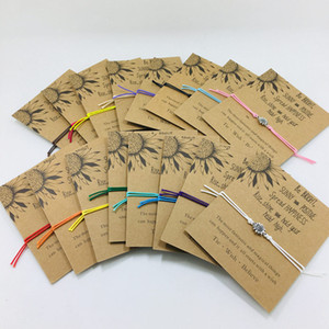 새로운 해바라기 디자인 팔찌 우정 자매 선물 팔찌 팀워크 기념품 수제 공예 생일 여자 패션 꽃 보석에 대한