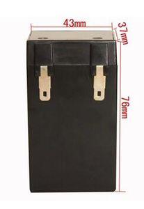 bateria acidificada ao chumbo do vrla da bateria recarregável do navio livre 6V 2.3AH