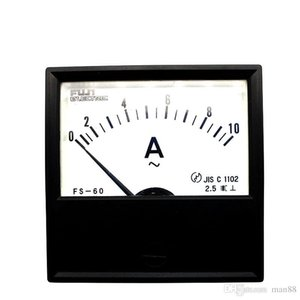 Japan FUJI FS-60 AC ammeter 10A pointer mechanical head