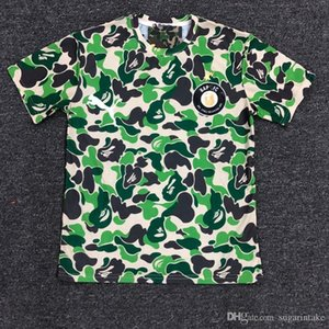 2019 fashion Best Quality Mens 19BAPE A New BATHING 19 APE Camo T-shirt Crew Neck T-Shirt