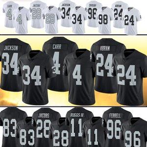 라스 베이거스 남자해적뉴저지 4 데릭 카 (28) 조쉬 제이콥스 (24) 조나단 아브람 34 보 잭슨 (83) 대런 월러 페럴 축구 유니폼