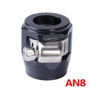Versorgung Behandlung AN 8 AN APS Aluminiumlegierung Kraftstoff / Öl / Kühler / Gummi Heizöl Wasser-Rohr-Jubiläum Clip Clamp Schlauch Finisher Clamp /